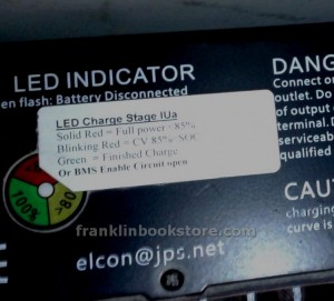 Elcon 5000 Indicator Light