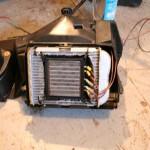 Heater Core Installed in Original Core in HVAC case