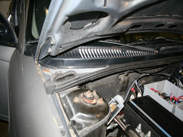 Outside View of Fresh Air Vent Intake
