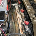 Underhood UPPER batteries removed