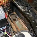Underhood LOWER batteries removed