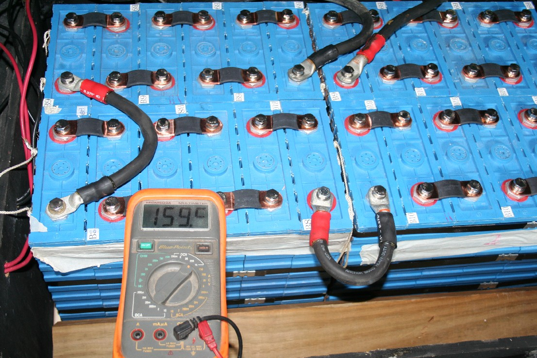 Shipped voltage showing 159.5 volts: Shipped voltage showing 159.5 volts