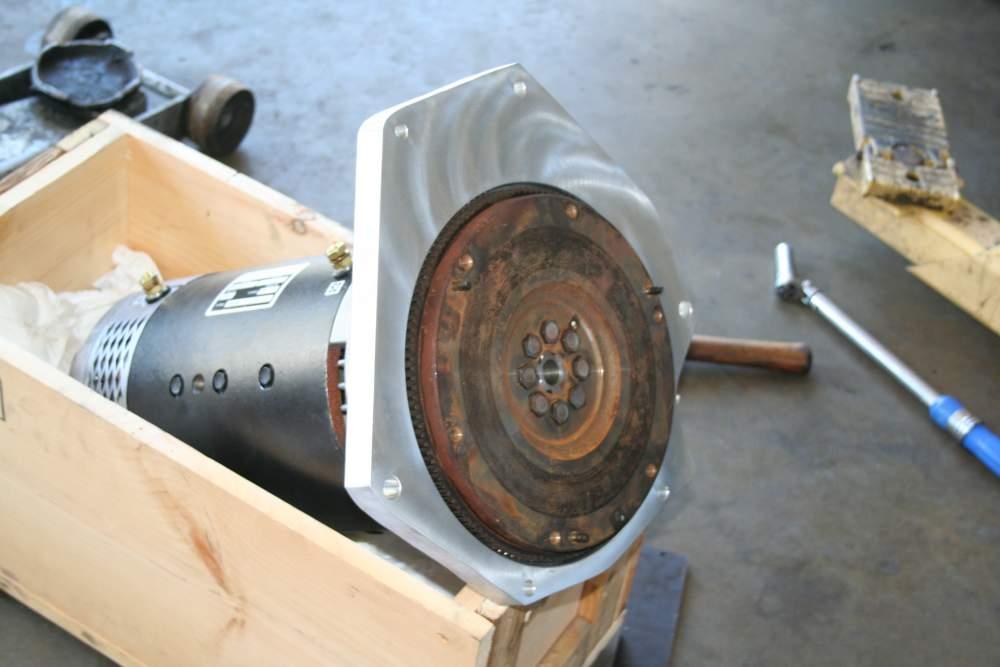 Oct9 Motor & Adaptor & Flywheel
