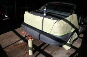 Paint Rear Bumper