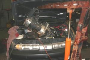 Removing Failed Advanced DC EV Moto r Removing Failed Advanced DC EV Motor