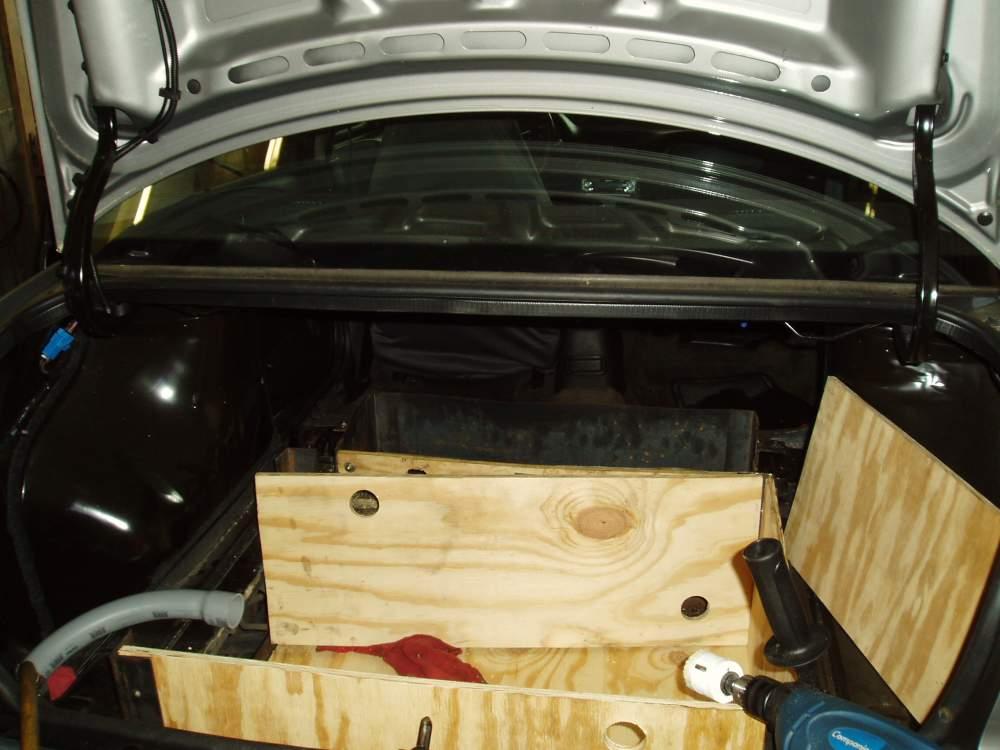 Sept Rear Battery Box wood