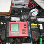 Servicing Testing and Recording Battery Pack Voltages