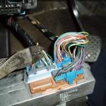Cutting Tach white wire