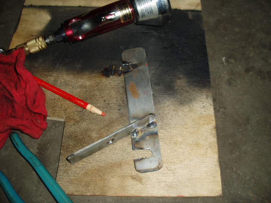 tach - crank sensor bracket