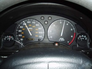 Tachometer Driving Home Feb 19 2009