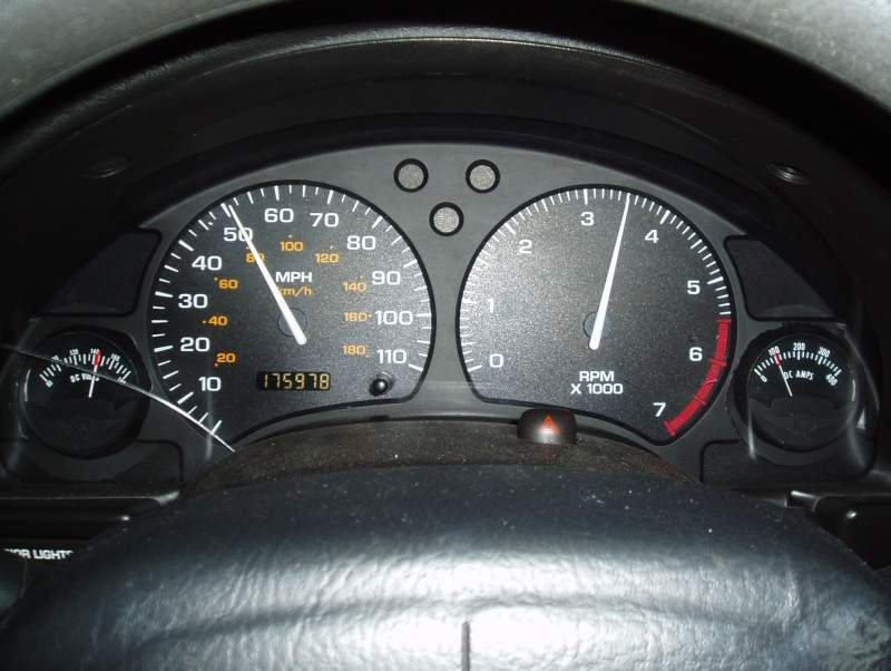 Tachometer Driving Home Feb 19 2009