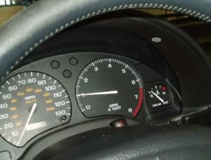 Tachometer In a 1999 ICE Saturn