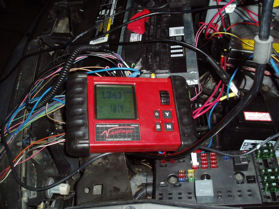 Voltage DC DC to Battery after first adjustment