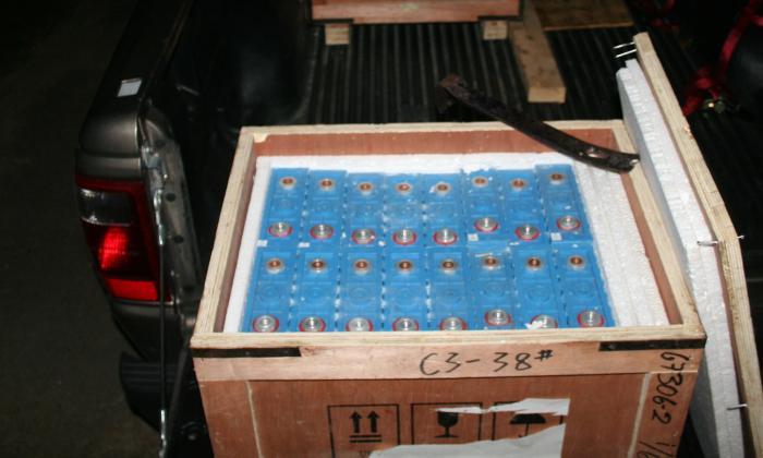 CALIB Arrive Crate Open