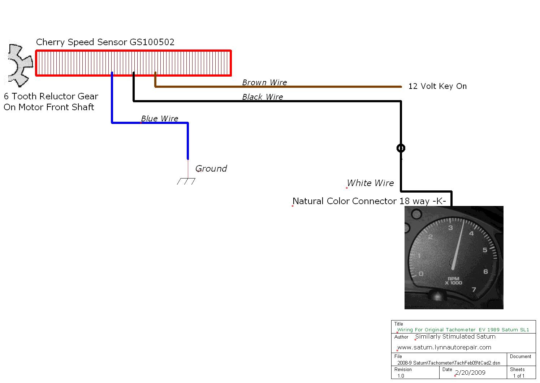 Fast Tach Wiring Library Yj Tachometer Diagram