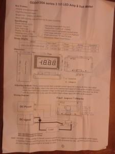 LED Voltmeter GDD5135A